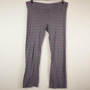 Victoria's Secret PINK Pajama Pants Grey Striped